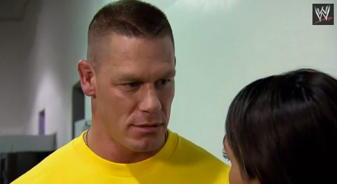 John Cena Admits To Shtting Himself In The Ring Video