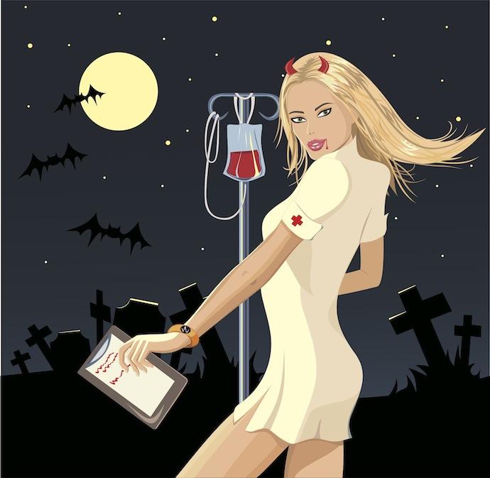 vampire nurse